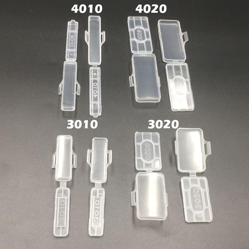 5000 stücke 3010 30x10mm 30*10 Transparent Klar Wasserdichte Draht Zeichen Kabelbinder Marker Beschriftet Tag box
