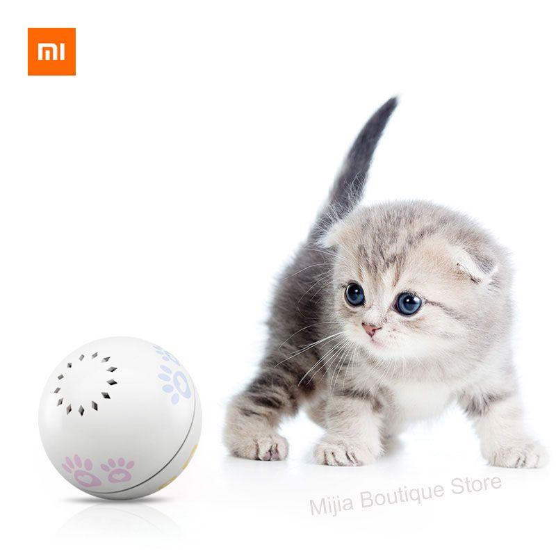 Xiaomi Petoneer Pet compagnon intelligent balle chat jouet intégré cataire boîte irrégulière défilement drôle chat artefact smart pet jouet