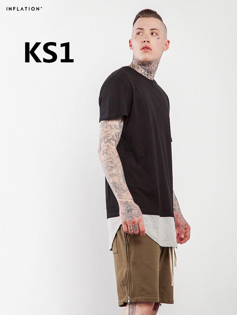 2018 Nouveaux arrivent Mode hommes 100% coton t chemise SK1