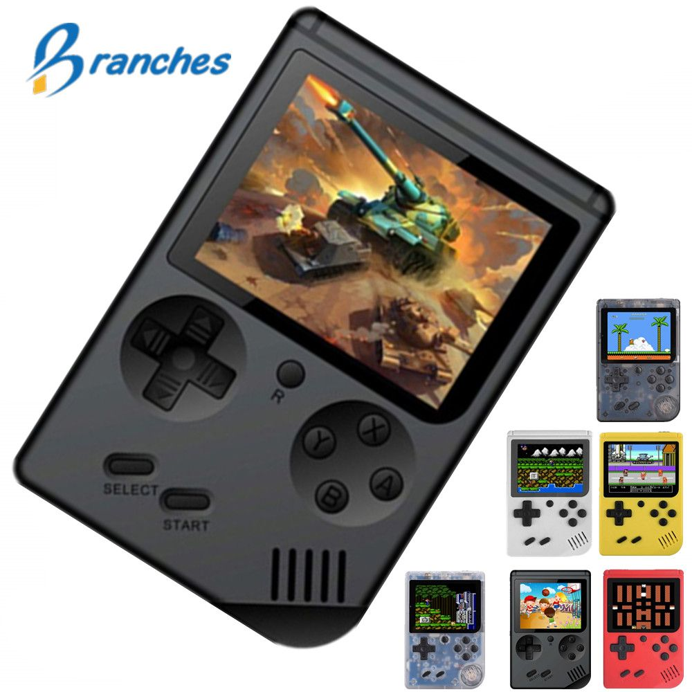 Coolbaby Retro Portable Mini Handheld Game Console 8-Bit 3.0 Inch Color LCD Kids Color Game Player Built-in 168 Video games