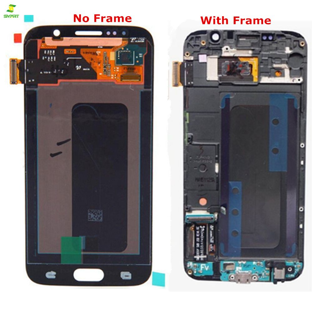 AAA Touchscreen S6 For S6 Samsung Galaxy S6 G920 G920F G920FD G920A G920I G920K Phone LCD Display Touch Digitizer LCDs Screen