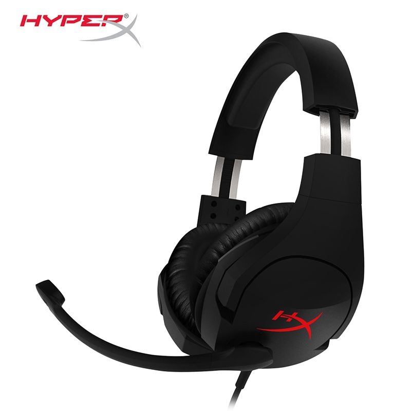 Latest KINGSTON HyperX Cloud Stinger Headband Lightweight comfort double sound game headset adjustable volume With a microphone