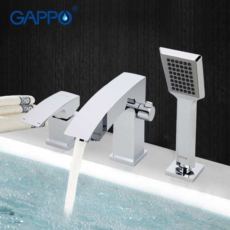 GAPPO bathroom shower faucet Bathtub Faucet tap bath shower shower set waterfall bathtub sink faucet water mixer sink tapsGA1107