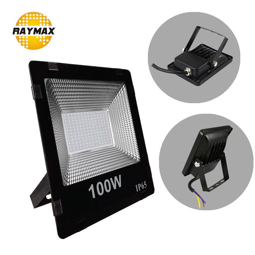 led floodlight powerful Outdoor flood Light 220v 230v IP65 10W 20w 30w 50w 70w 100w 200w 300w Waterproof Lamp reflector