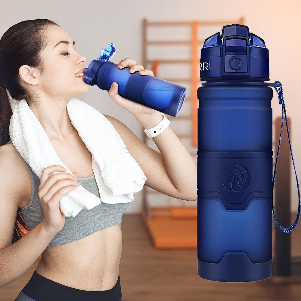 Meilleur Sport bouteille d'eau TRITAN Copolyester en plastique matière bouteille Fitness Gym Yoga pour enfants/adultes bouteilles d'eau avec filtre