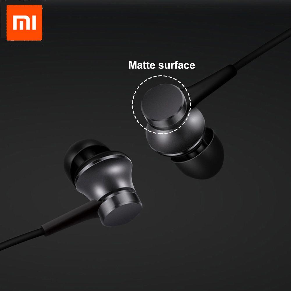 D'origine Xiaomi Mi Piston Frais Version Écouteur 3.5mm 3ème Basse Écouteurs casque avec Télécommande et Micro pour Téléphone Mobile MP4 MP3 PC