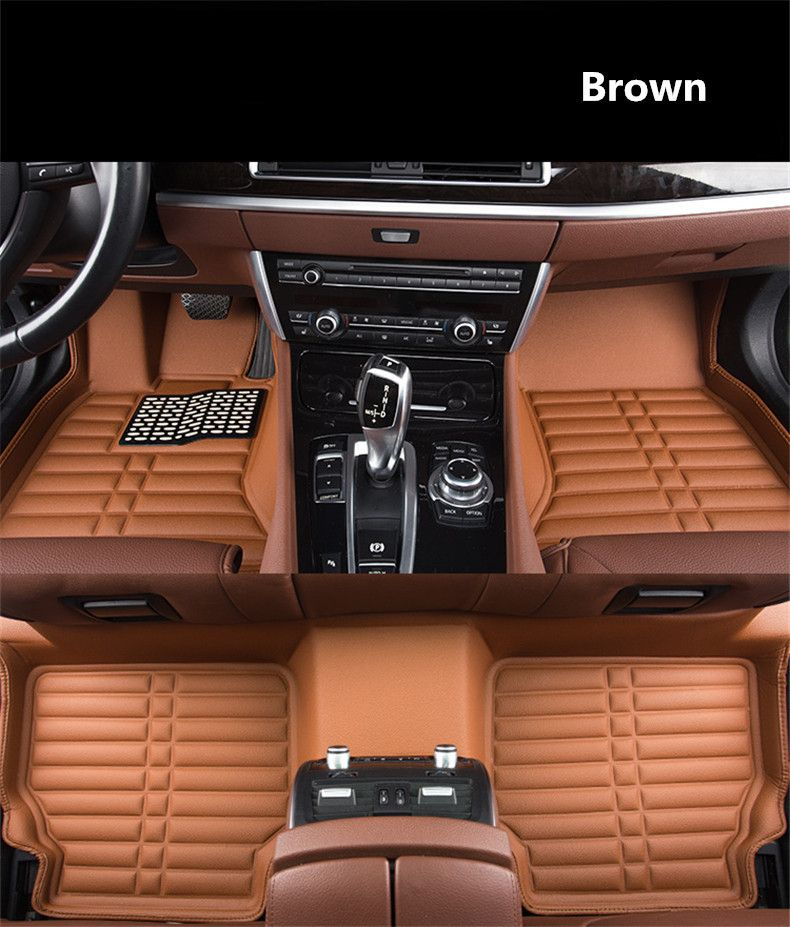 For Hyundai Elantra 2016.2017.2018 Floor Mats Auto Foot Carpets Step Mat High Quality Water Proof Clean Solid Color