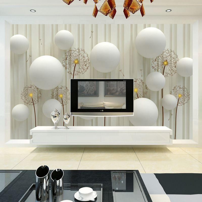 Benutzerdefinierte Wandtapete 3D Europäischen Stil Wohnzimmer TV Hintergrundbild Wandmalereien Schlafzimmer Vliestapete Modernen Gestreiften
