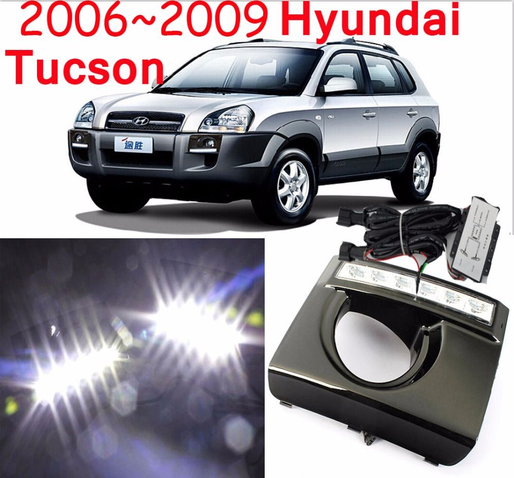 LED,2006~2014 Tucson daytime Light,Tucson fog light,Tucson headlight,accent,Elantra,Genesis,i10,i20,Tucson taillight