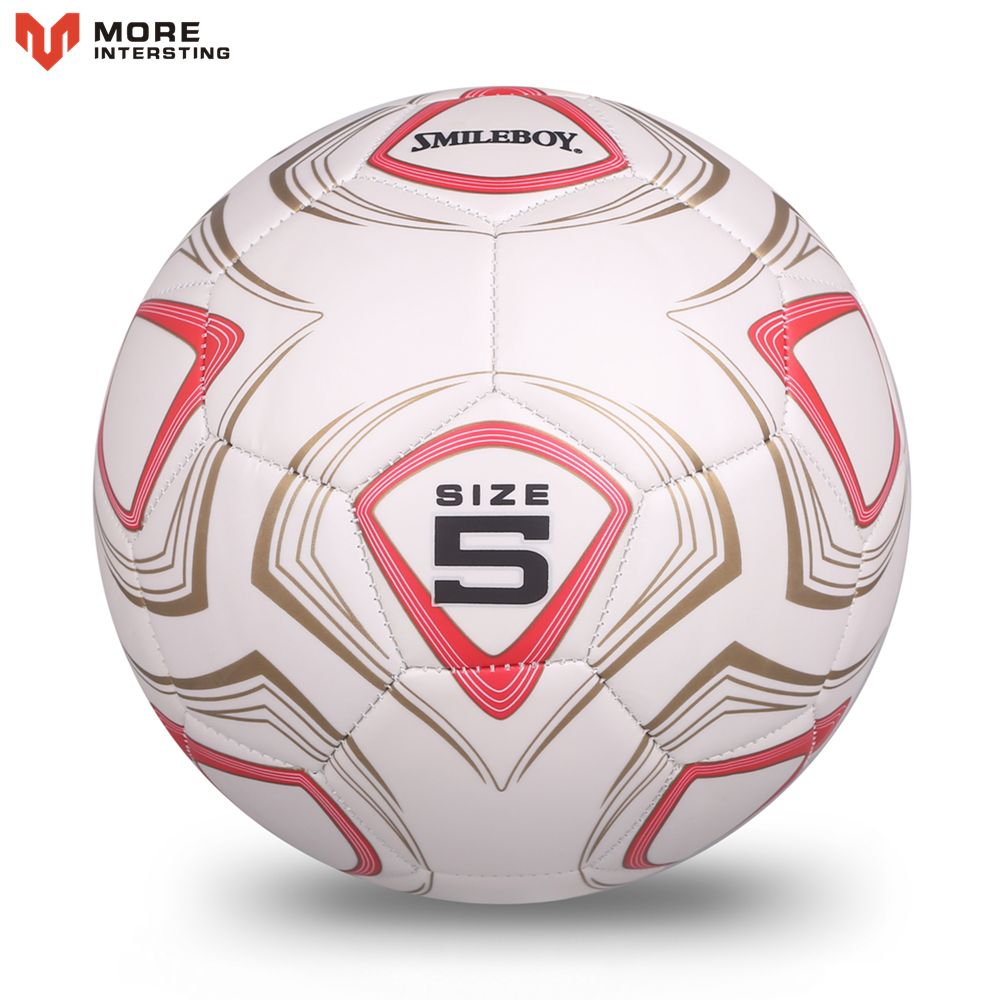 2017 High Quality Match Training Soccer Ball Size 5 Sports Football Goals Machine Sewing PVC Balls With Metal Gas Needle Gifts