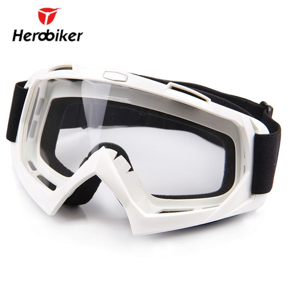 HEROBIKER Motorcycle Riding Goggles Ski Snowboard Skate Glasses Motocross Off-Road Dirt Bike Downhill Enduro Dustproof Eyewear