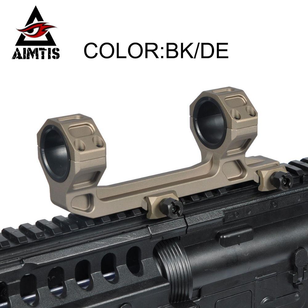 AIMTIS GE Jagd Zielfernrohr Montieren Optic 1 /30mm Durchmesser Ringe AR15 M4 M16 mit Wasserwaage Fit Weber Picatinny Schiene