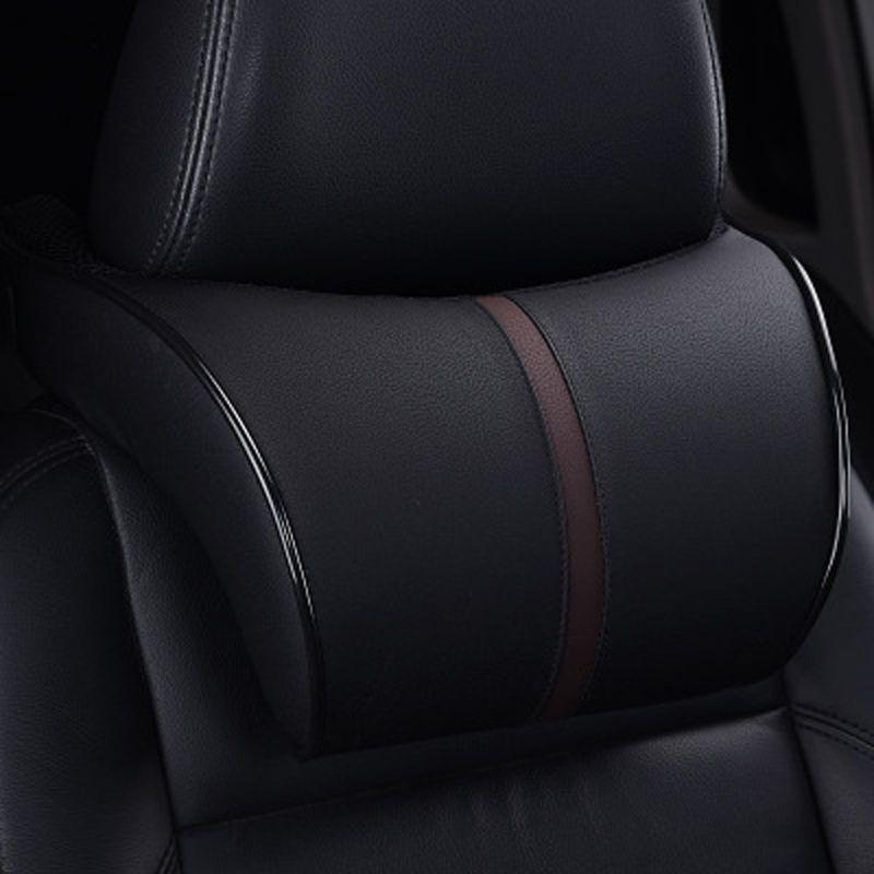 CHIZIYO High Quality PU Leather Car Headrest Auto Neck Protection Rest Pillows Neck Rest Seat Headrest Cushion Pad