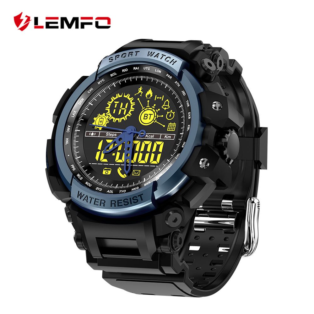 LEMFO LF21 Smart Watch Pedometer Smart-watch Call & Message Remind Smart Watch Waterproof Remote Camera for IOS Android Phone