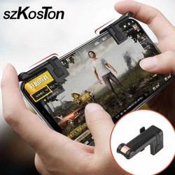 Nuevo juego móvil juego controlador botón de disparo objetivo clave L1 R1 Shooter controlador para los cuchillos/reglas de supervivencia /crítica Ops