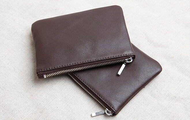 Изумрудный новые модные натуральная кожа портмоне с хорошее качество, Бесплатная доставка