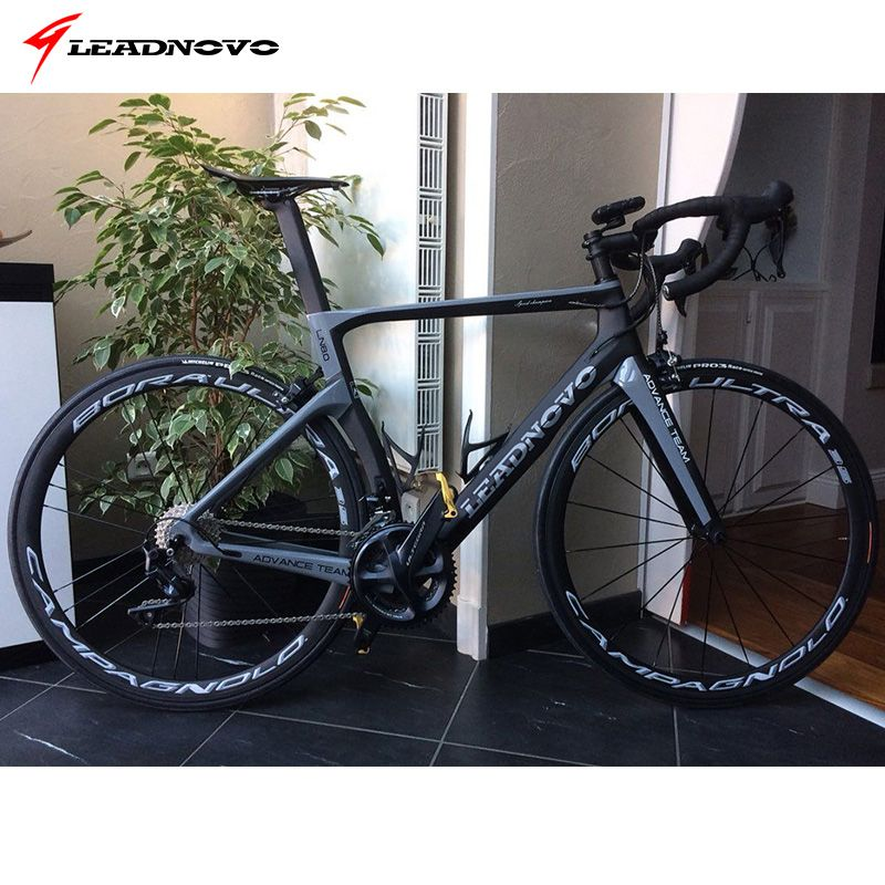 2017 carbon road bike frame carbon fibre road cycling race bicycle frameset taiwan bike LEADNOVO AERO ROAD bike frame