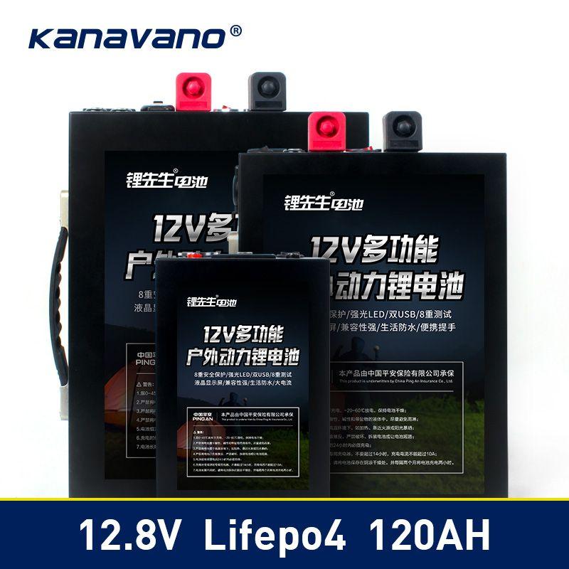 12 V LiFePo4 batterie Lithium-eisen phosphat batterie 12,8 V 40ah 70ah 120ah Akku mit BMS Brett 500A Für UPS + 14,6 v 6A
