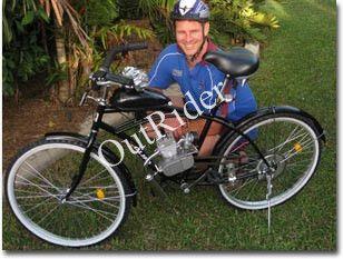 FreeShipping! 80cc 2 Hub Zyklus Fahrrad Motorisierte Motor Kit für Motor Gas Silber 2 Jahre Garantie Herstellung