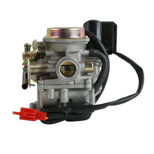 NEW 50cc SCOOTER Carb CARBURETOR ~ 4 <font><b>stroke</b></font> chinese GY6 139QMB engine moped SUNL BAJA
