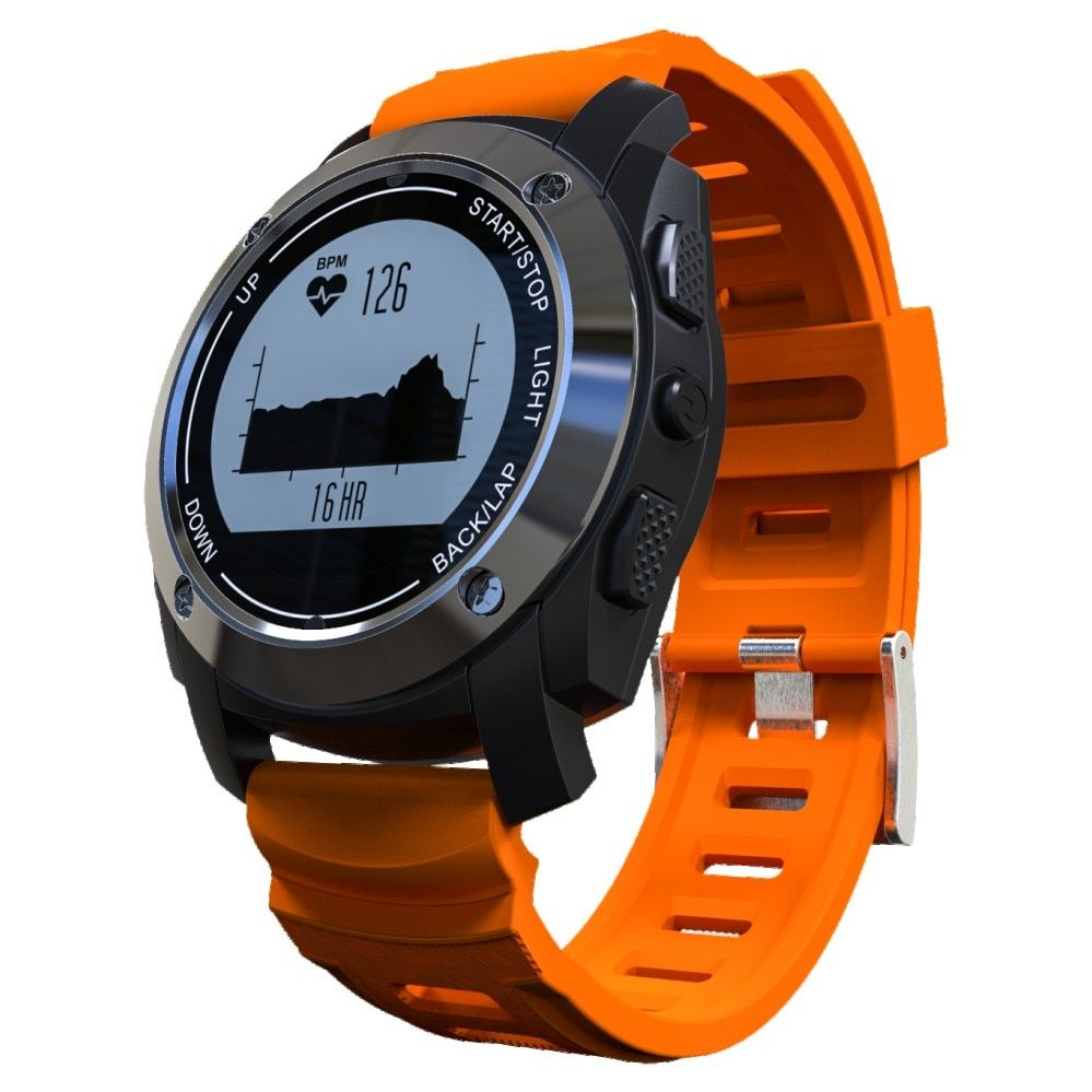 Smartch S928 Bluetooth Smart Watch GPS Smart Band Heart Rate Height Race Monitor Speed Outdoor GPS Fitness Tracker