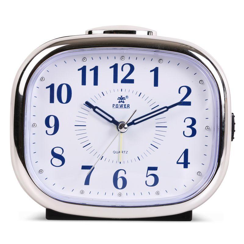 Lumière de nuit Numérique Alarme Horloge À Quartz Snooze Alarme de Mouvement Horloge Moderne Minuterie Silencieux De Bureau Table Horloge Cloche Anneau 10 Couleurs