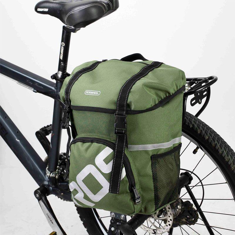 Roswheel MTB Faltrad Fahrrad Korb 15L Gepäckträger Pannier MTB Beutel Fahrrad Fahrrad Satteltasche Radfahren Sitztasche Zubehör