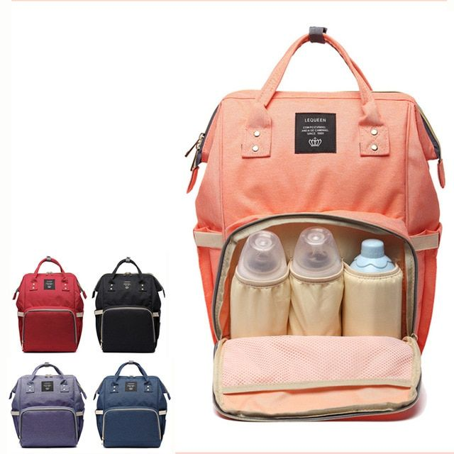 Diaper Bag Mommy Maternity Nappy Bags Large Capacity Baby Travel Backpack Desiger Nursing Bag Baby Care For Dad and Mom MU894286