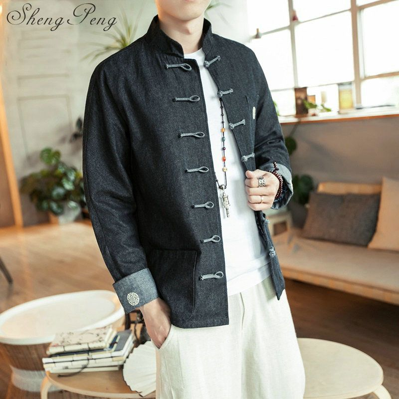 Traditional chinese clothing tang bruce lee uniform chinese jacket traditional chinese clothing for men bruce lee jacket CC093