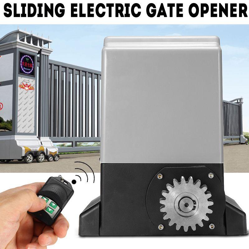 AC220V Elektrische Fernbedienung Schiebetür Maschine Flache Tür Motor Villa Elektrische Tür Elektrische Tor Opener 370 watt/550 watt/750 watt