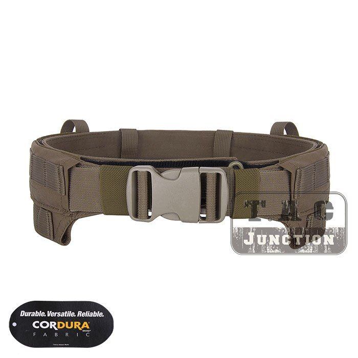 Emerson CP Style Modular Rigger's Belt EmersonGear MRB MOLLE Lightweight Low Profile Tactical Belt Coyote Brown Inner & Outer