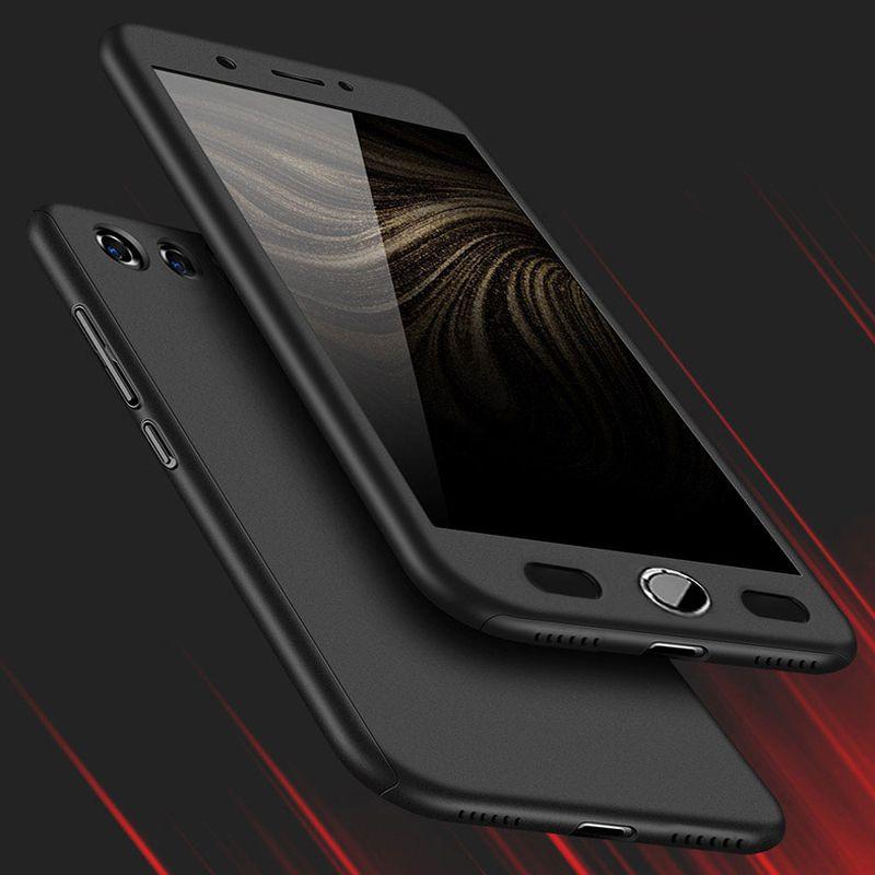 Z17 360 Degree Full Protection Hard Case For ZTE Nubia Z17 Cover shockproof case For ZTE Nubia Z17 mini Z17mini Case + glass