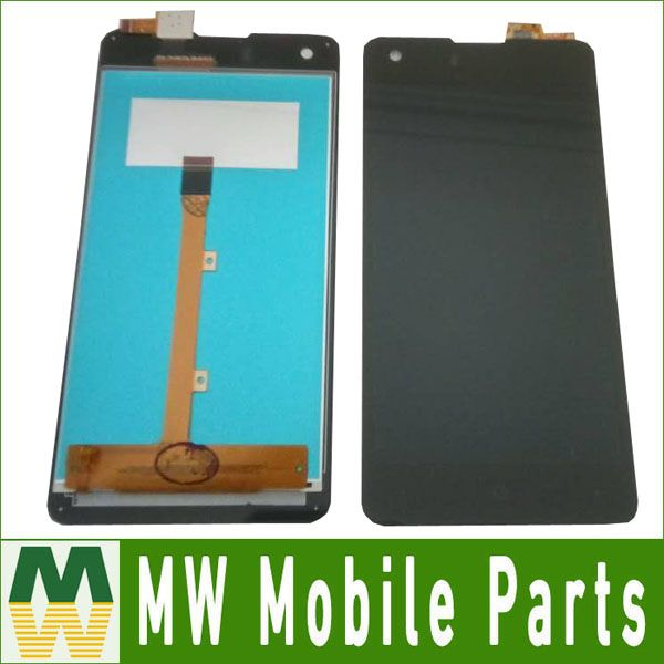 Original Quality For Highscreen Omega Prime S 4.7 inch LCD Display+Touch Screen Digitizer Assembly Black Color