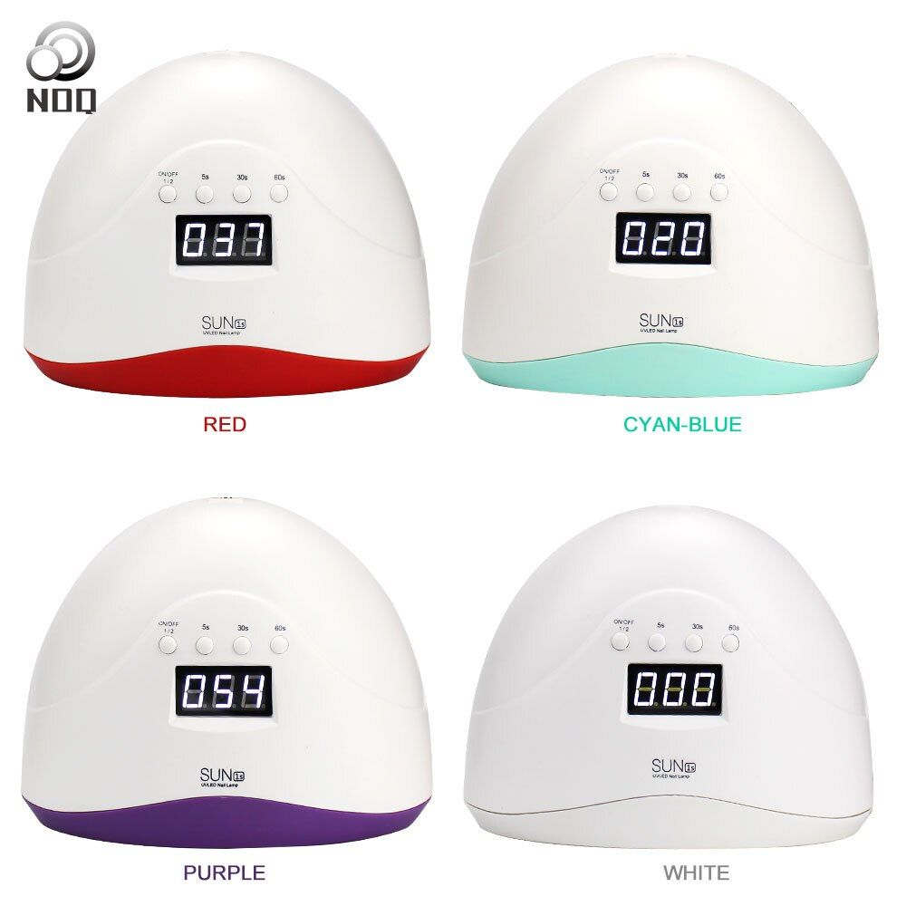 NOQ Lamp For Nails Sun1s Manicure Machine UV LED Nail Lamps Apparatus Smart 48W Curing Light Therapy Nail Dryer Polisher