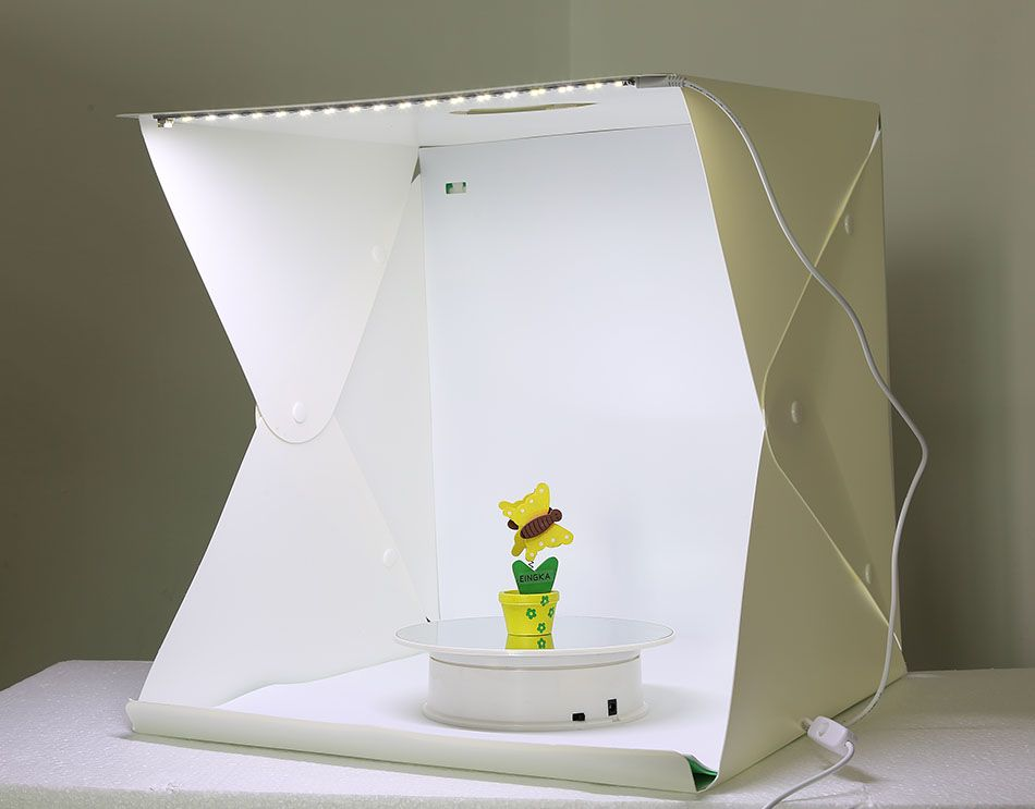 Large Size Folding Lightbox Photography Photo Studio Softbox LED Light Soft Box Photo Background Kit Light box Button Type