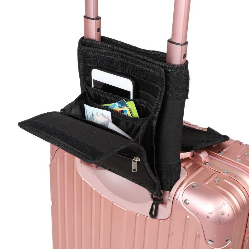 Travel Nylon Bag Fashion Women Men Bag Luggage Organizer Business Portable Leather Passport Id Card Storage Hanging Packet Pouch