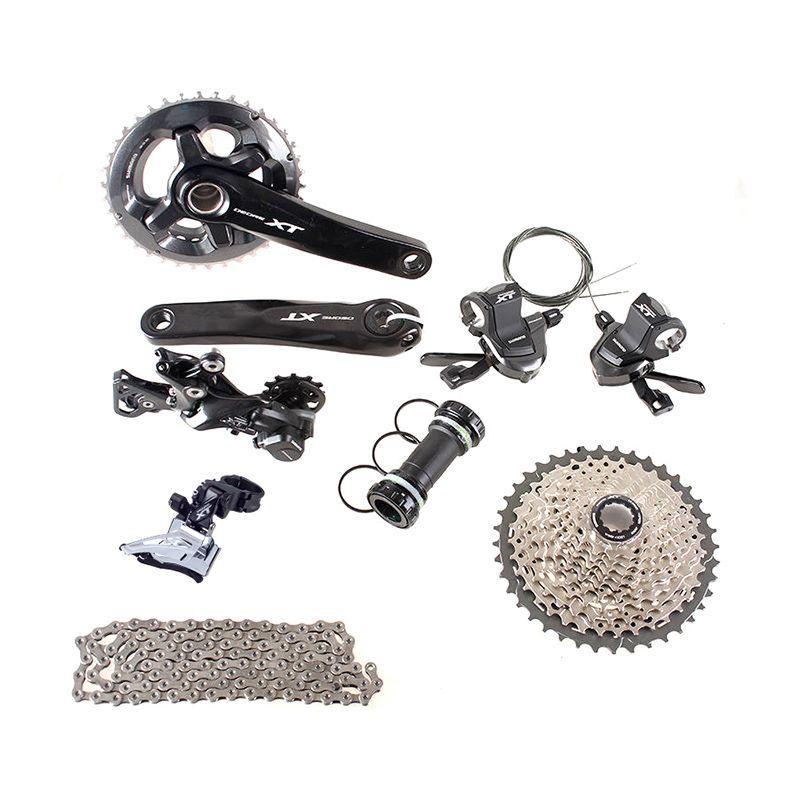 SHIMANO DEORE XT M8000 2x11 22S Speed 38/28T 36/26T 170mm 11-42T MTB Mountain Bike Groupset