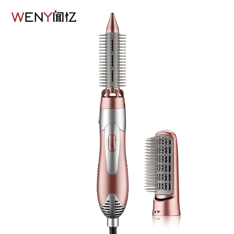 WENYI 220-240V Electric Hair Curling Irons  Styler Hair Blow Dryer Machine Brush Comb Straightener Curler Styling Tool
