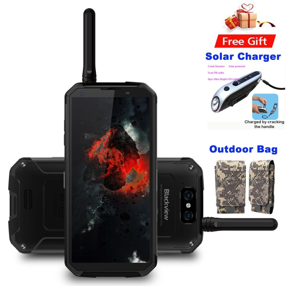 Original BV9500 Pro ip68 Rugged Waterproof Mobile Phone Android 8.1 Octa Core 5.7