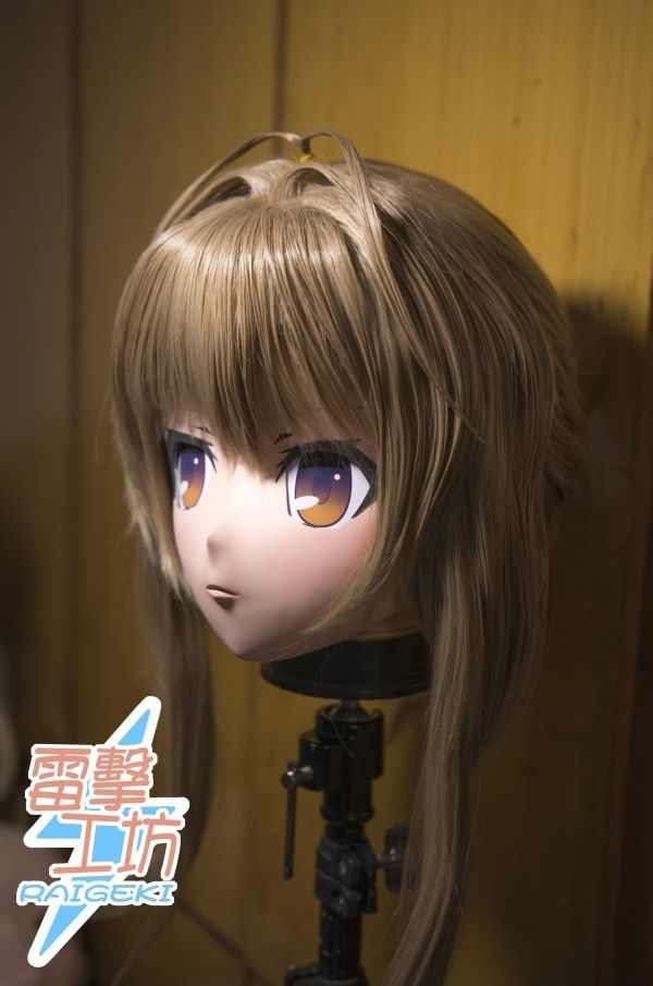 (KM9179) Top Qualität Handgemachten Weibliche Harz Vollen Kopf Cosplay Japanischen Rolle Spielen Sento Isuzu Anime Kigurumi Maske Crossdresser puppe