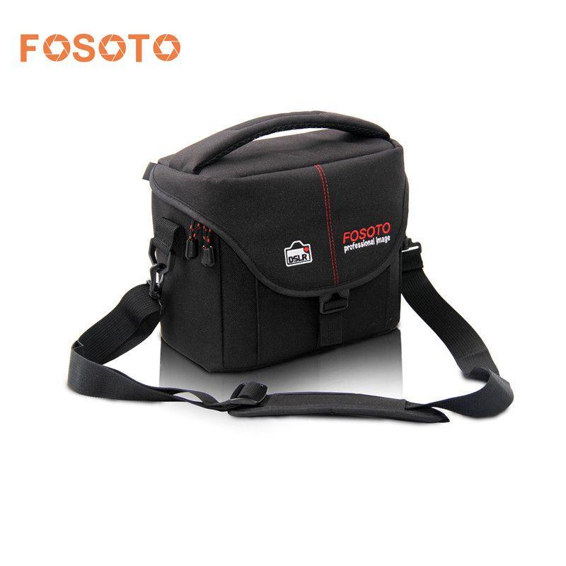Fosoto DSLR Camera Bag Case Cover Vidéo Photo Numérique photographie épaule Sacs En Nylon Pour Dslr Sony Canon Nikon D700 D300 D200