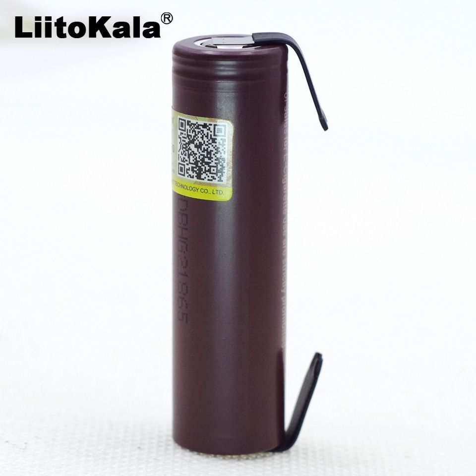 Liitokala for  HG2 18650 3000mAh electronic cigarette rechargeable battery high-discharge, 30A high current + DIY nicke