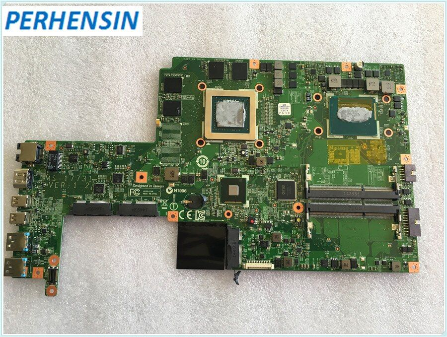 MS-17731 Für MSI GS70 Laptop Motherboard i7-4720HQ SR1Q8 GTX965M MS-1773 100% ARBEIT PERFEKT