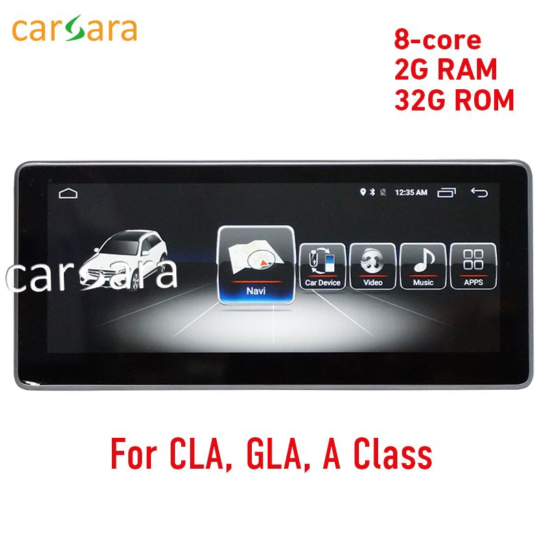 2G RAM 10.25 Android display for Mercede Benz CLA GLA A Class W176 2013-2017 GPS Navigation radio stereo dash multimedia player