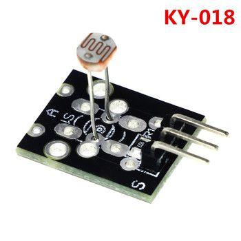 3pin KY-018 Optique Sensible Résistance Light Detection Photosensible Capteur Module pour arduino DIY Kit