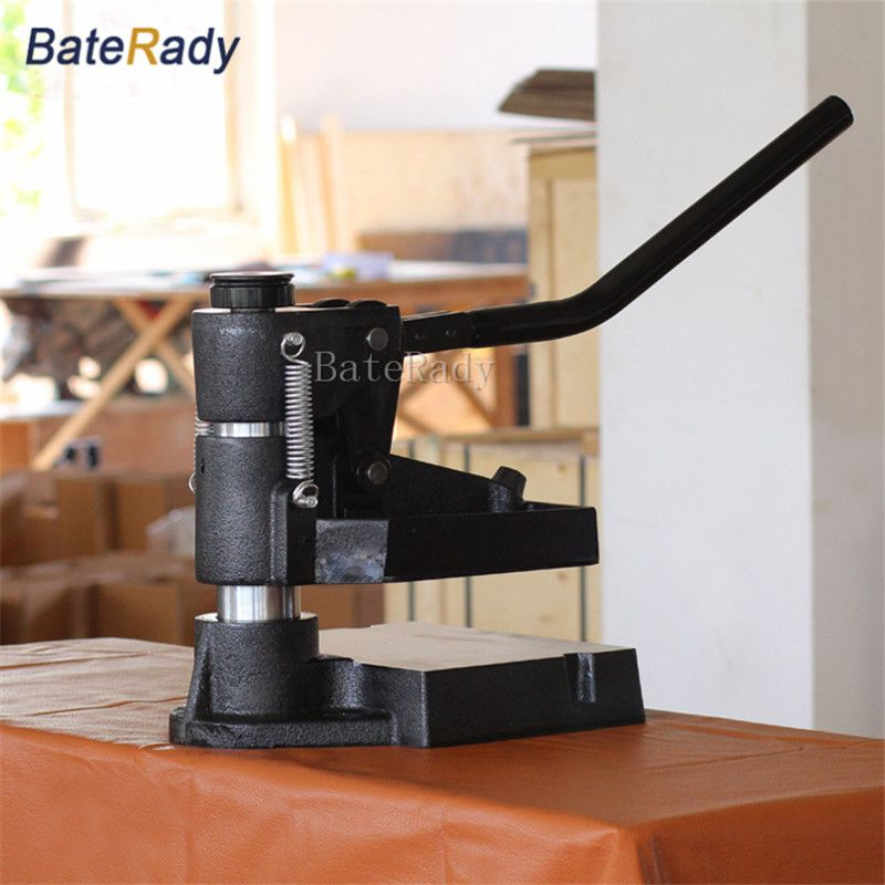 8360 BateRady Hand pressure sampling machine,Laser knife mold leather stamping machine,manual leather mold /Die cutting machine