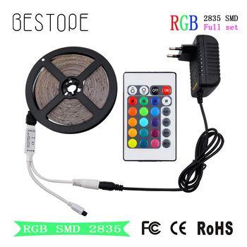 RGB LED Bande 15 M 20 M Led Bande SMD 2835 5 M 10 M DC 12 V Étanche RGB Led diode Ruban Flexible Contrôleur