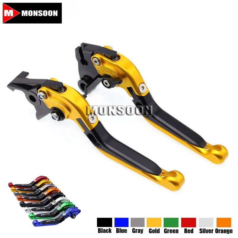 For Triumph SPEED TRIPLE 04-07 TIGER 1050 Sport 07-16 TIGER 800 800XC 11-14 Motorcycle Folding Extendable Brake Clutch Levers