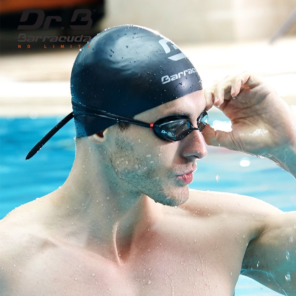 Barracuda Dr.B Optical Swim Goggle Corrective Anti-fog UV Protection No leaking Easy adjusting for Adults Men Women Black #32295