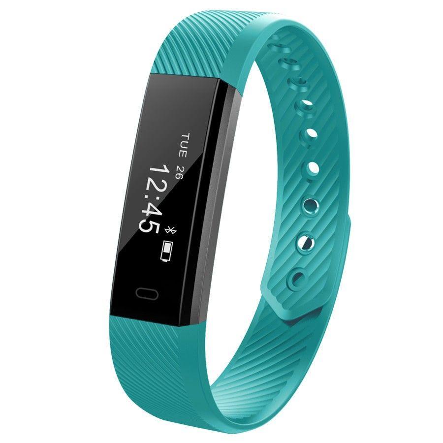 EnohpLX ID115 HR Smart Armband Fitness und Schlaf-tracker Pedometer Pulsmesser Smart band Armband